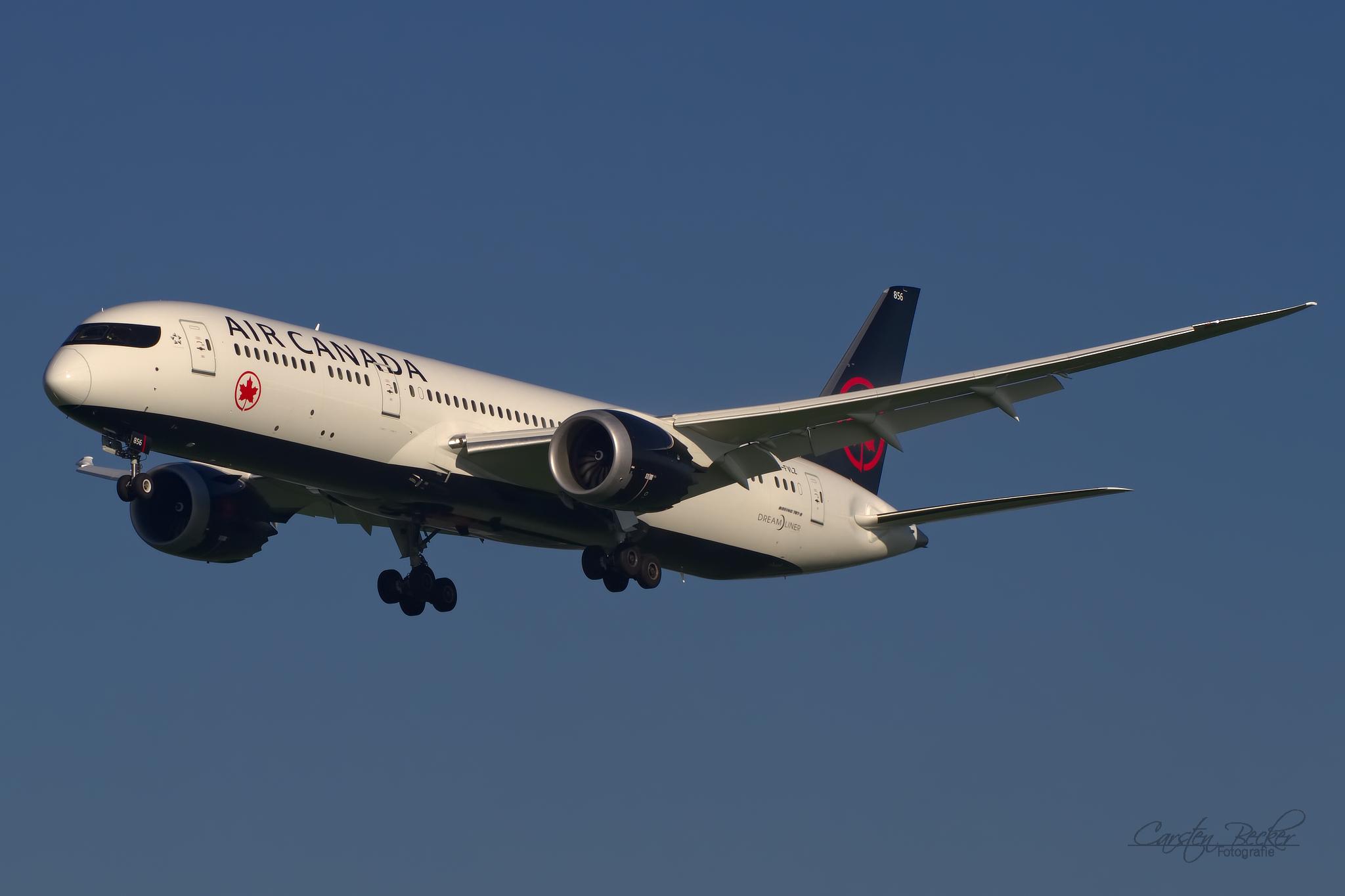 Air Canada B787 CF-VLZ