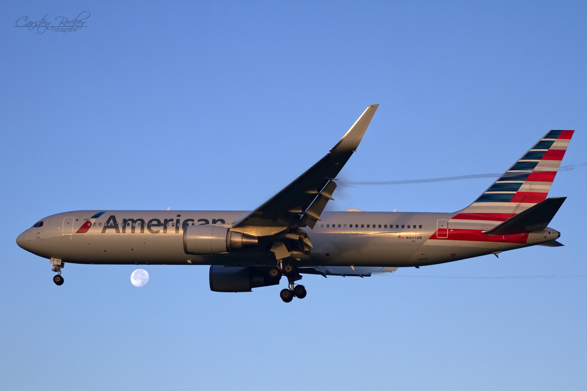 American Airlines B767 N397AN