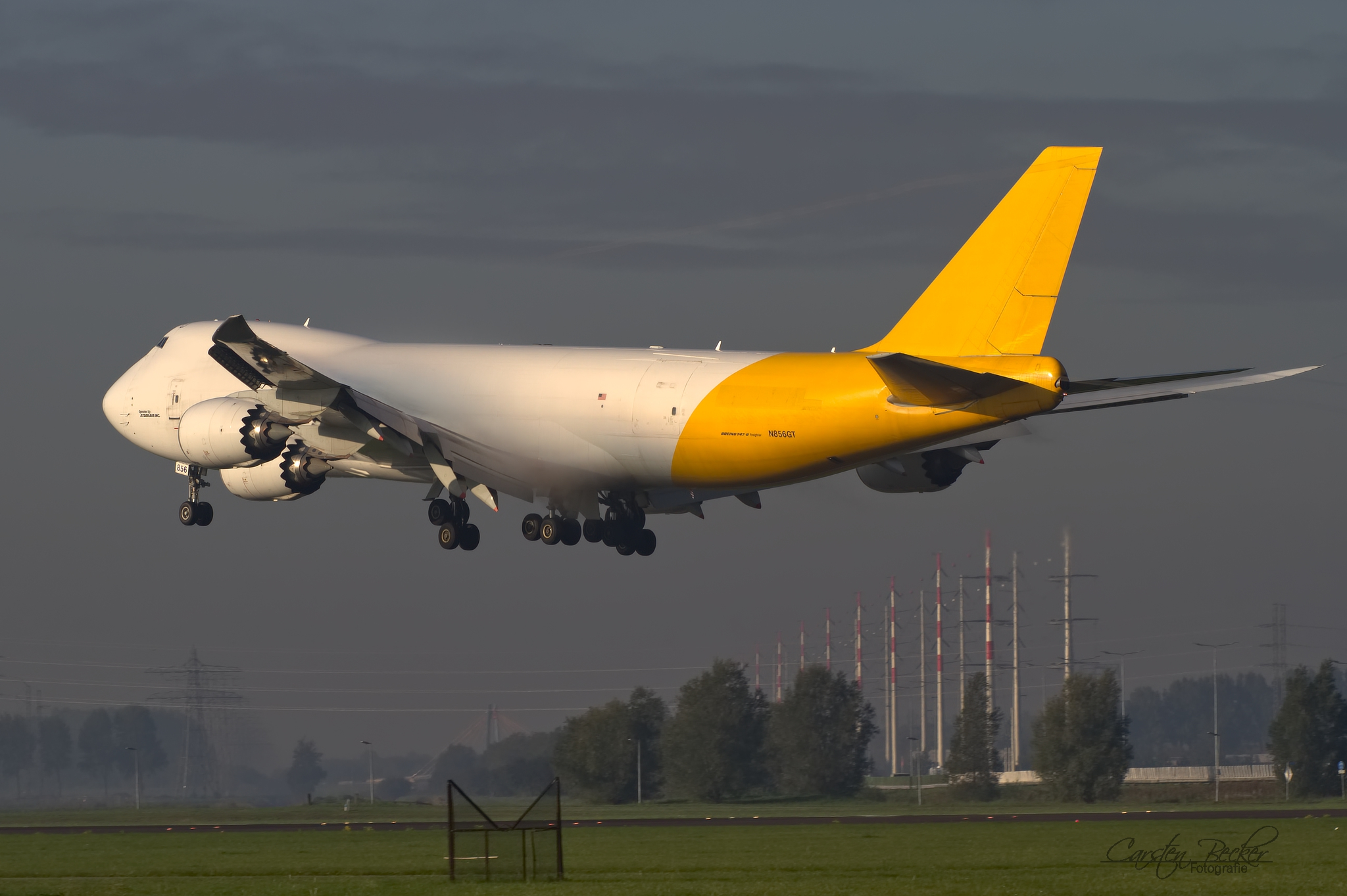 Atlas Air B747 N856GT