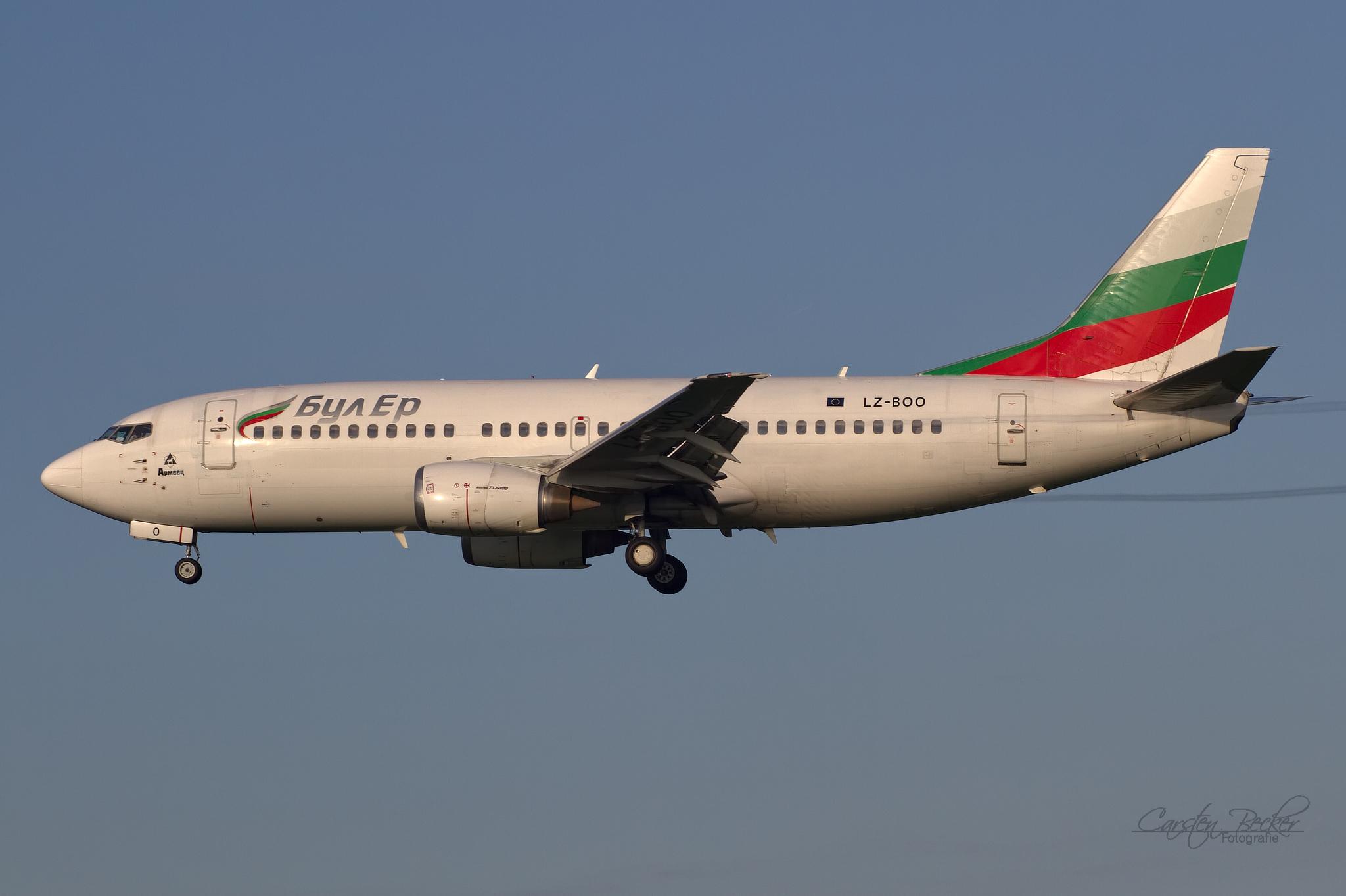 Bul Air B737 LZ-BOO
