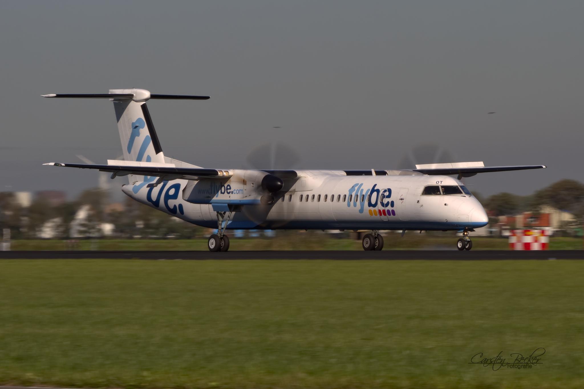 Flybe Dash8 G-JEGT