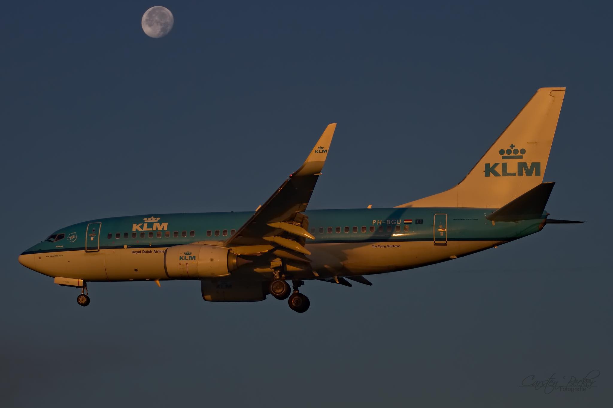 KLM B737 PH-BGU
