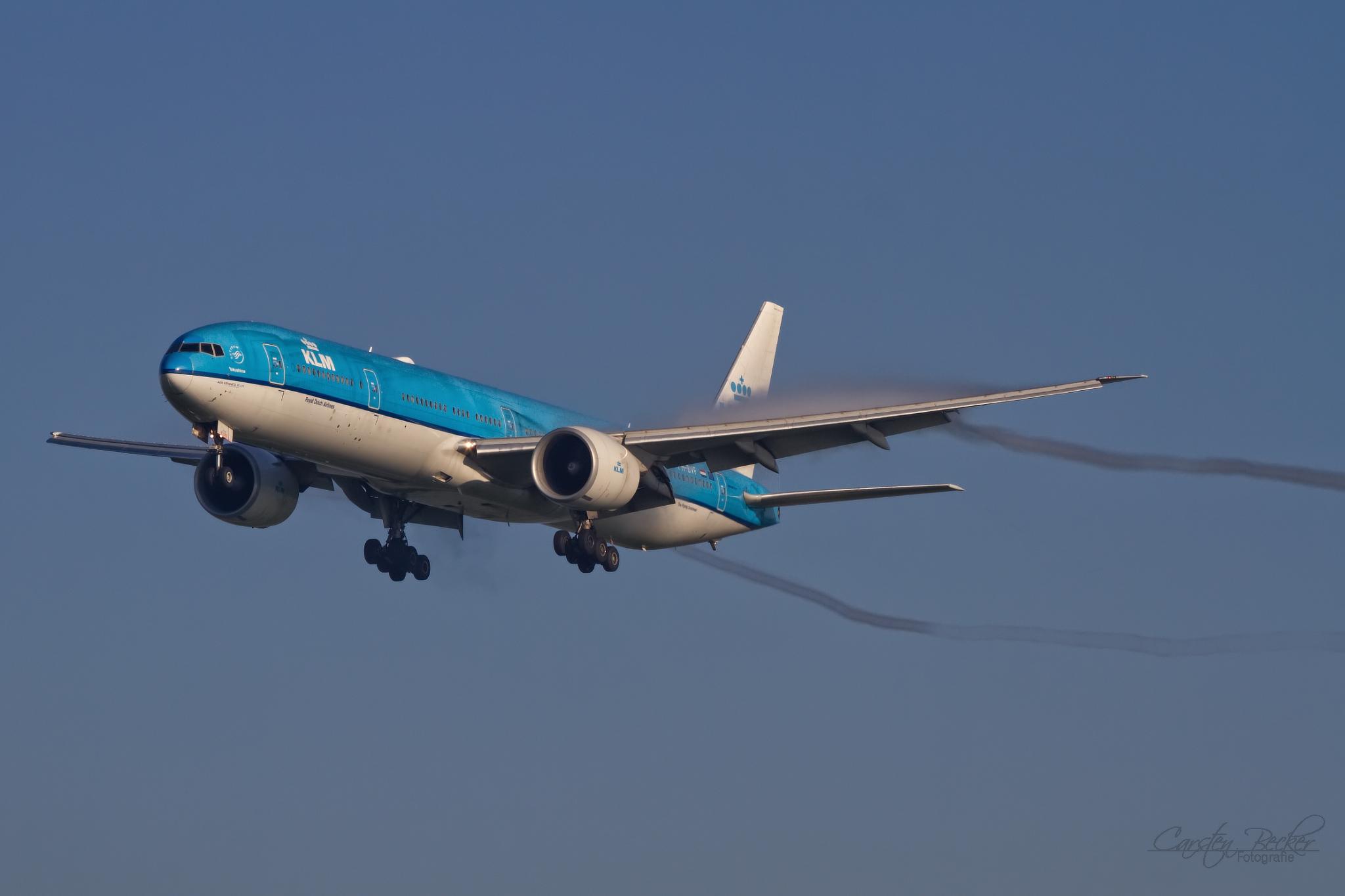KLM B777 PH-BVF