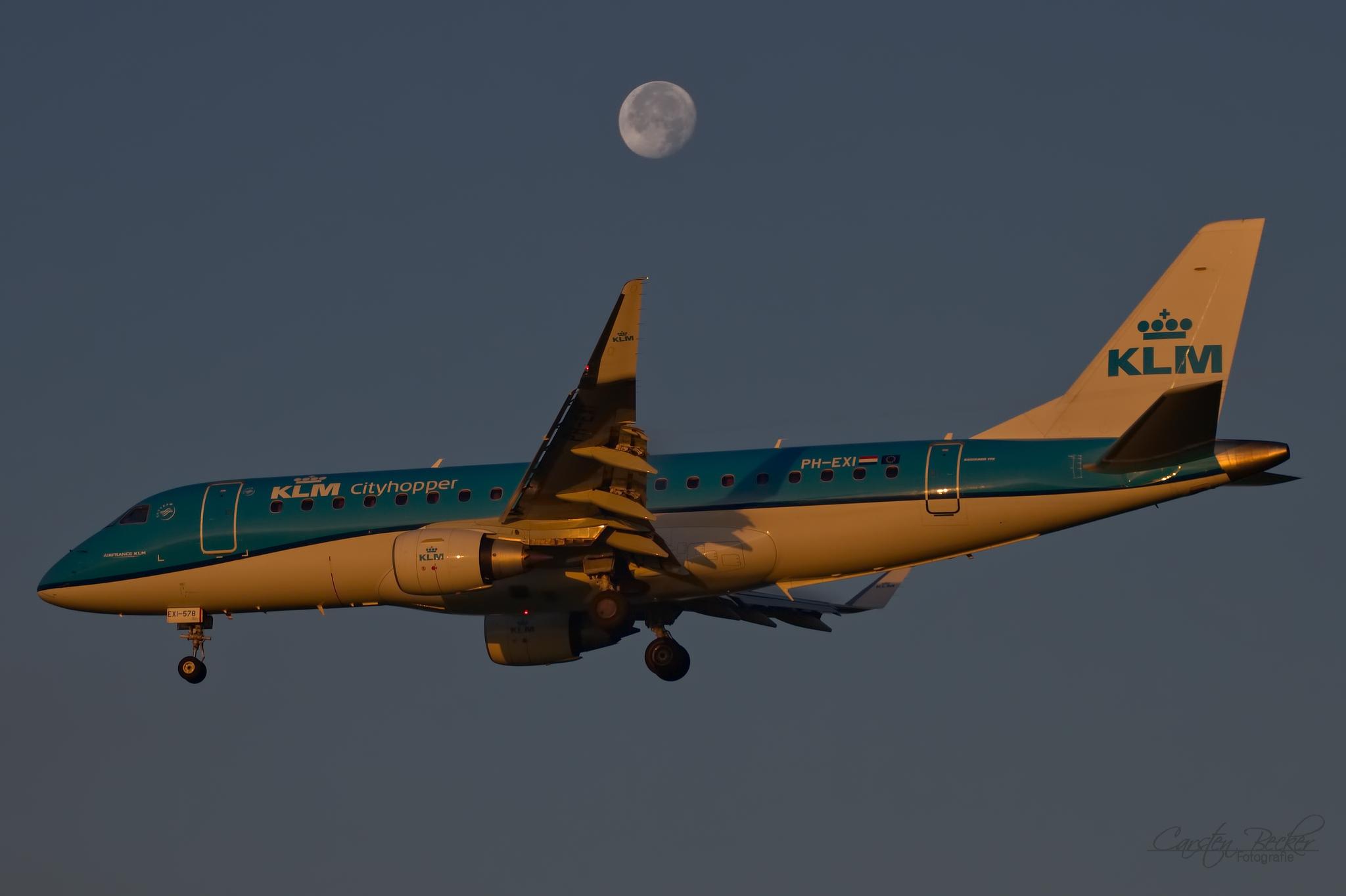 KLM E175 PH-EXI