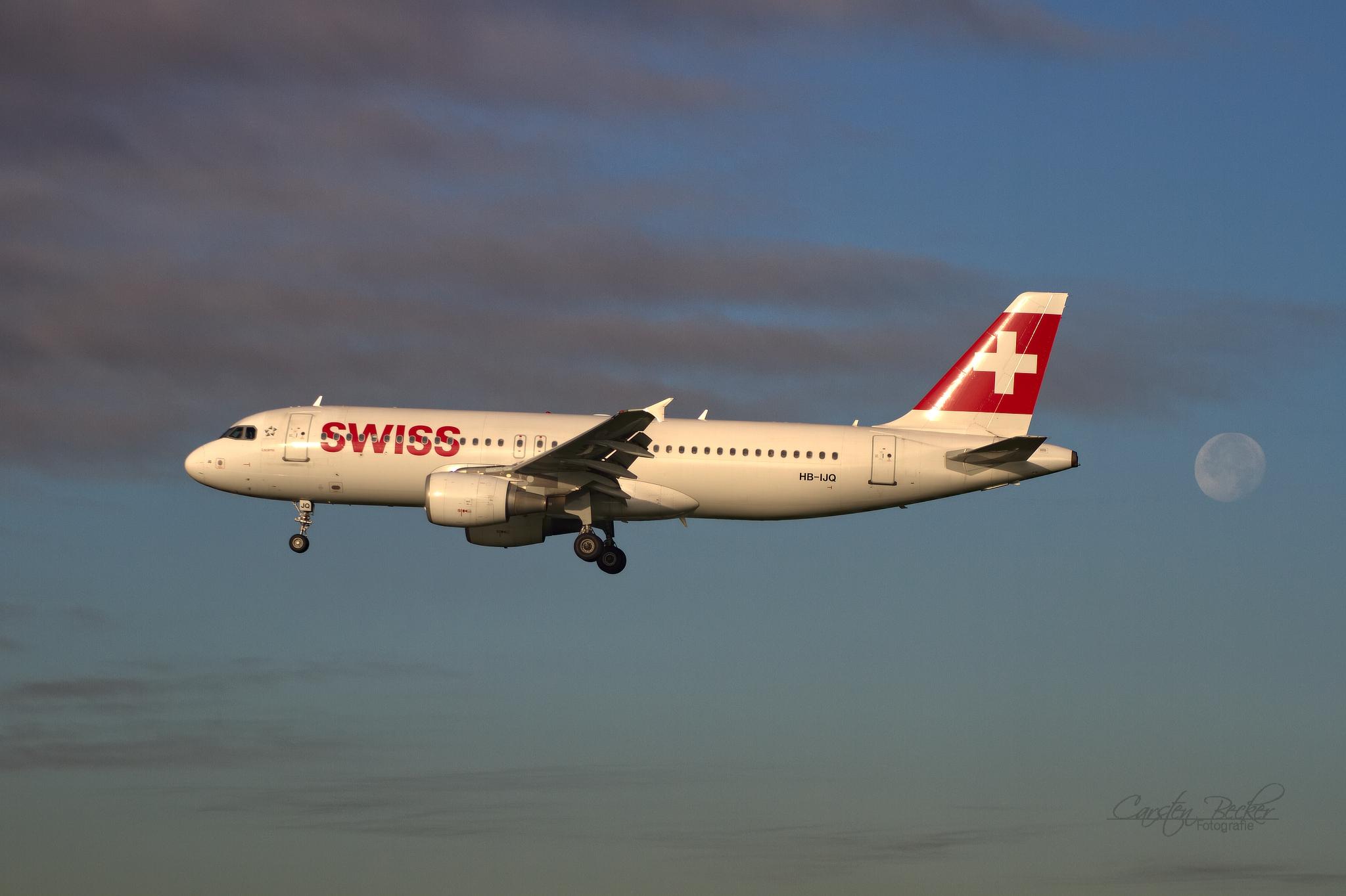 Swiss A320 HB-IJQ