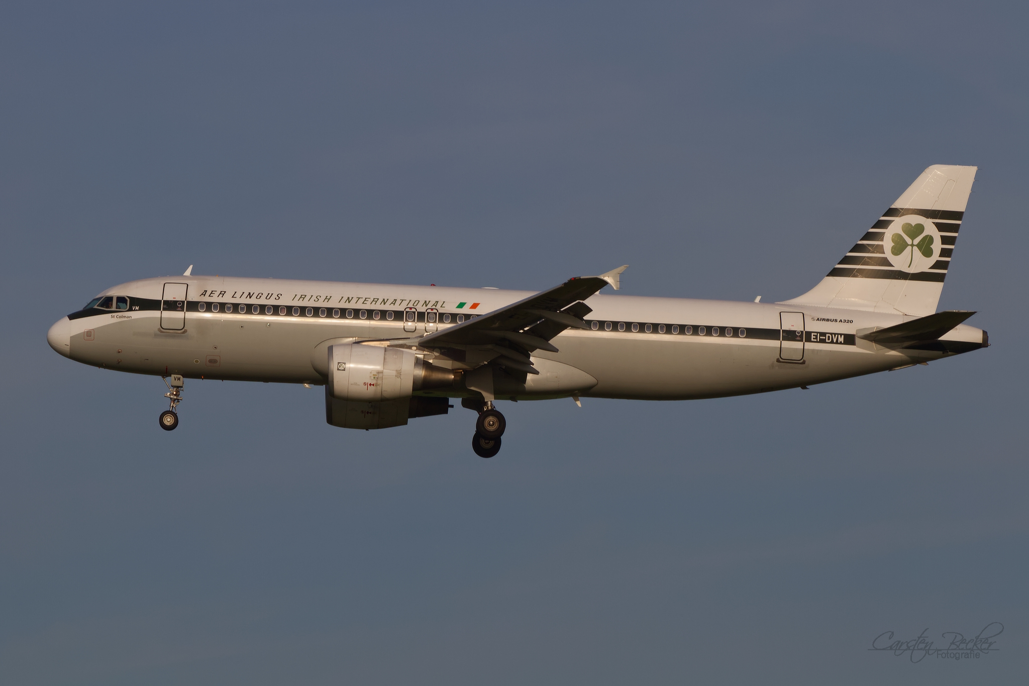 Aer Lingus A320 EI-DVM Retro