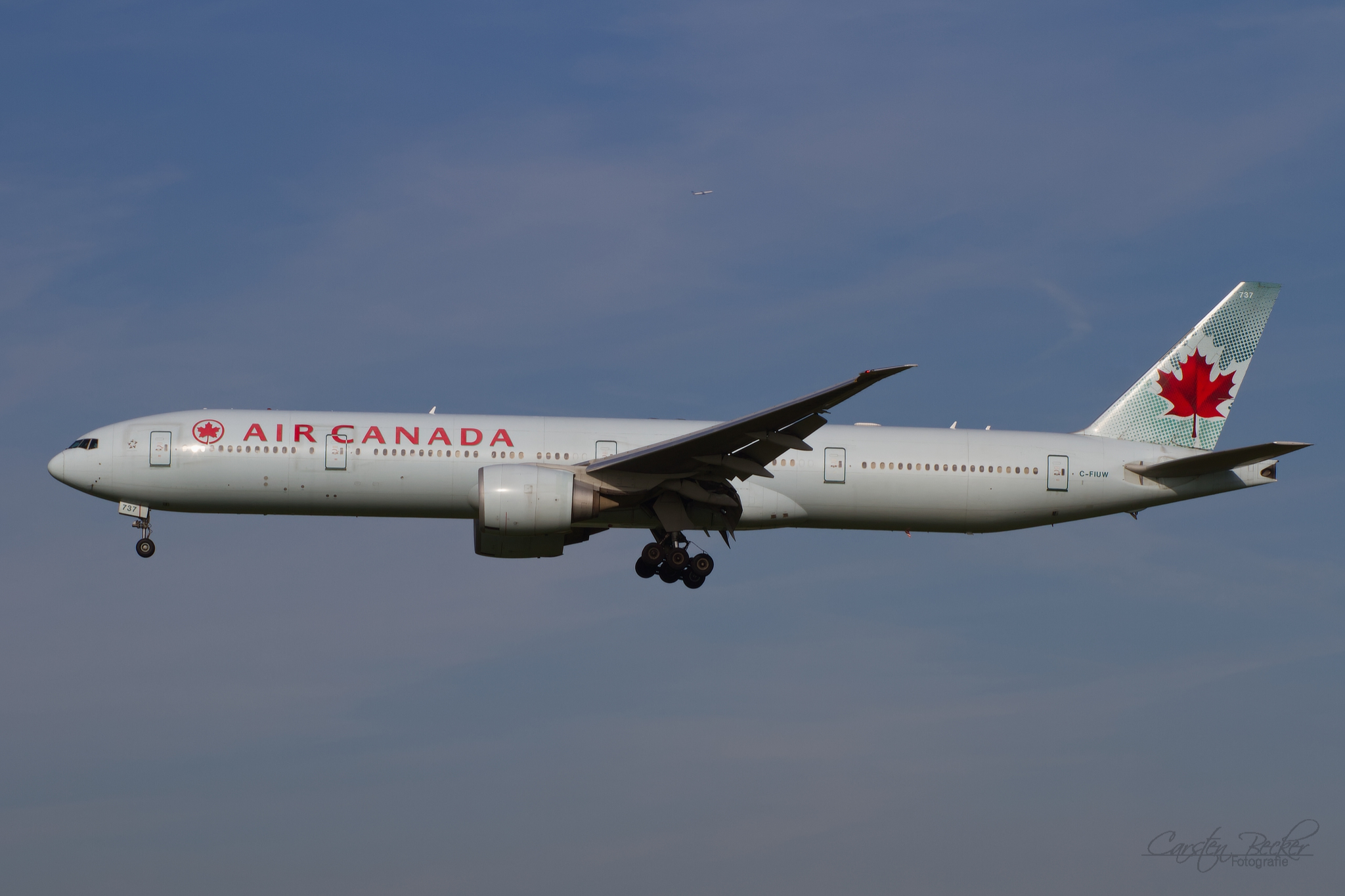 Air Canada B777 CF-IUW