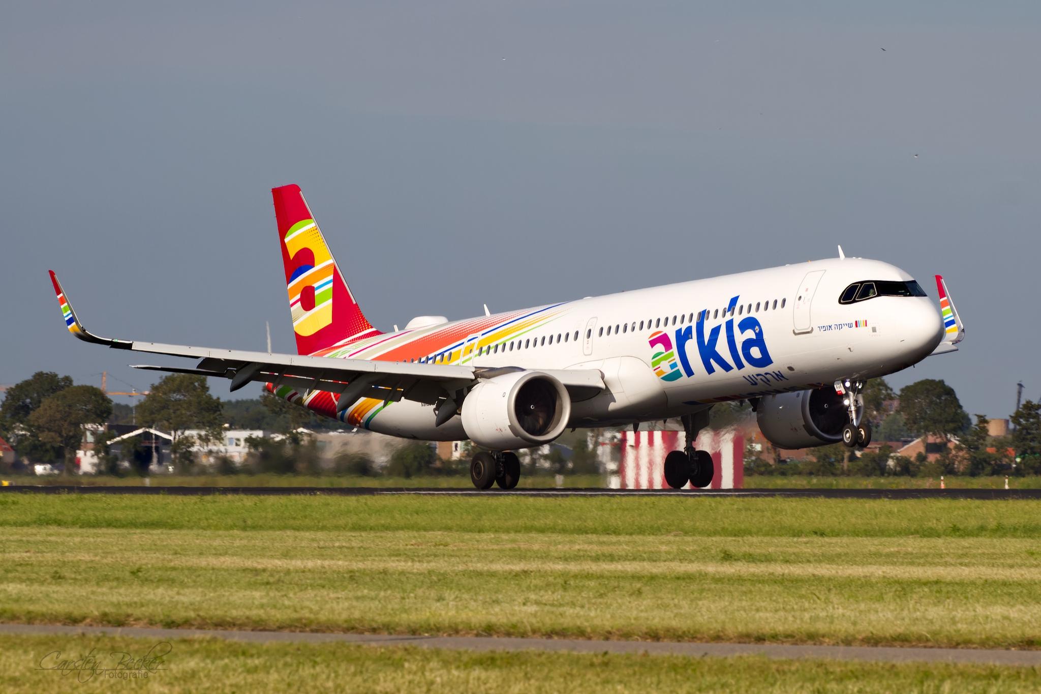 Arkia A321Neo 4X-AGK