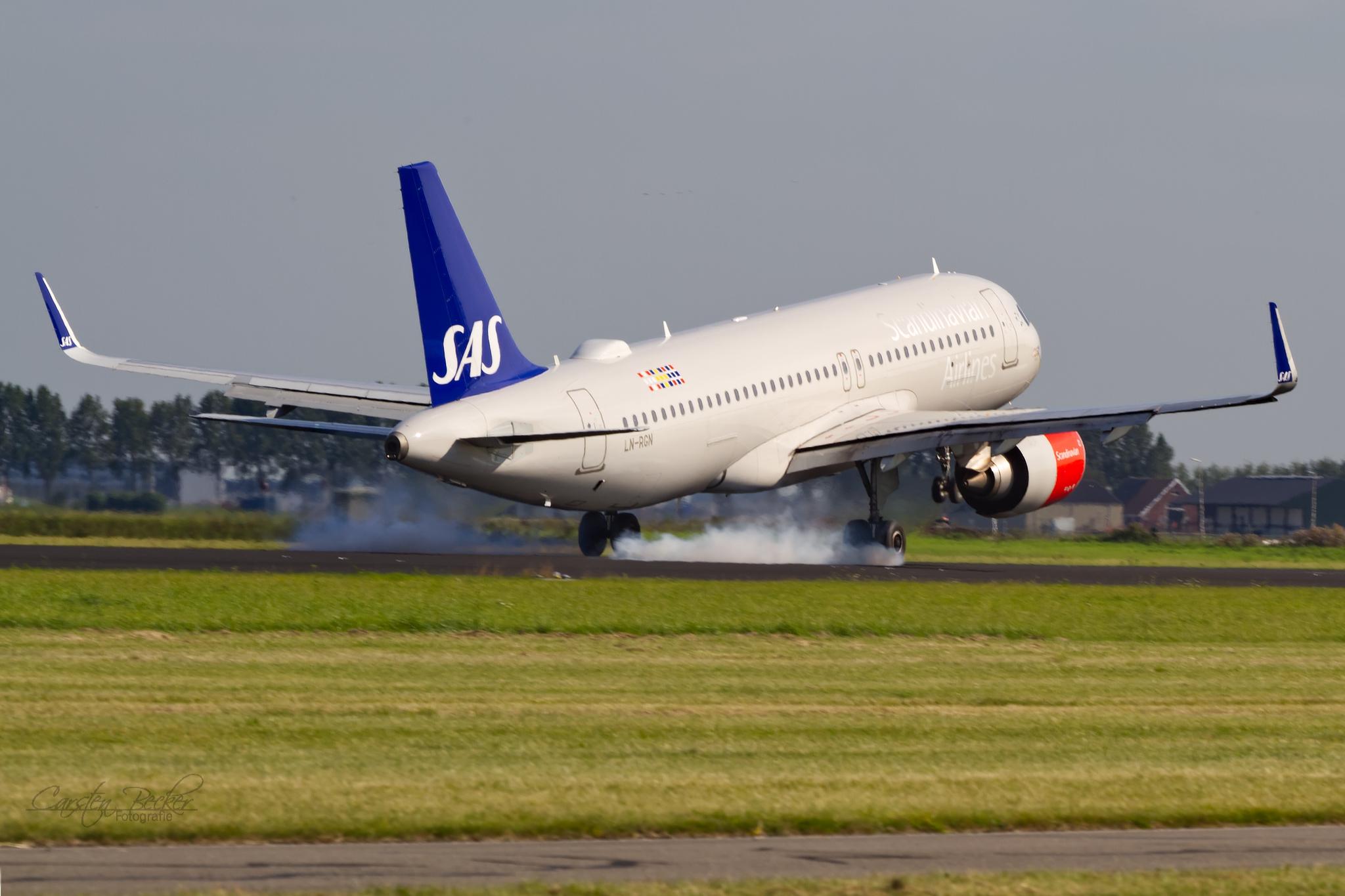 Scandinavian A320Neo LN-RGN